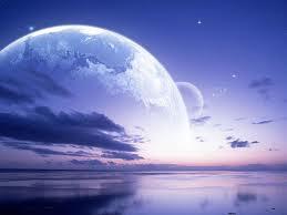 Luna Azul del salmón sabio