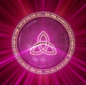 Símbolo triskel en la cultura celta