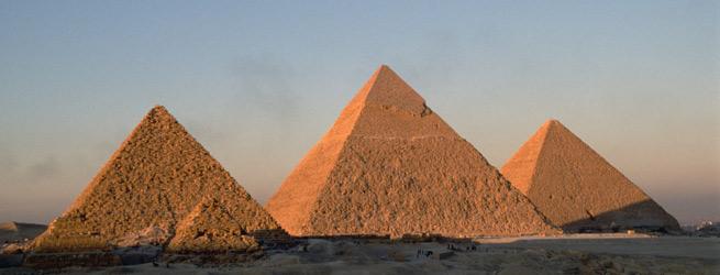 Pirámides de Guiza en Egipto