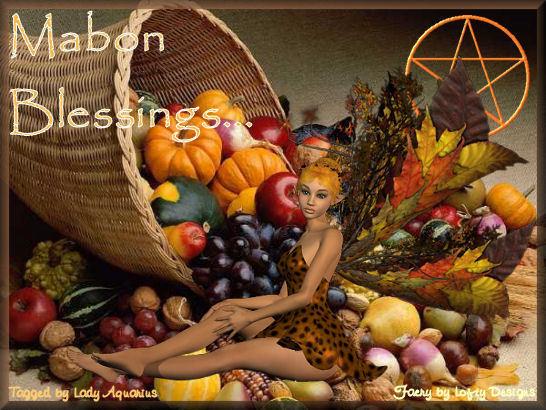 La última cosecha en Mabon