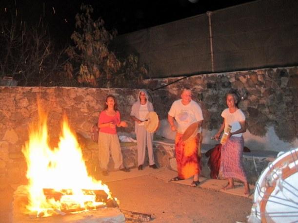 Animando el fuego