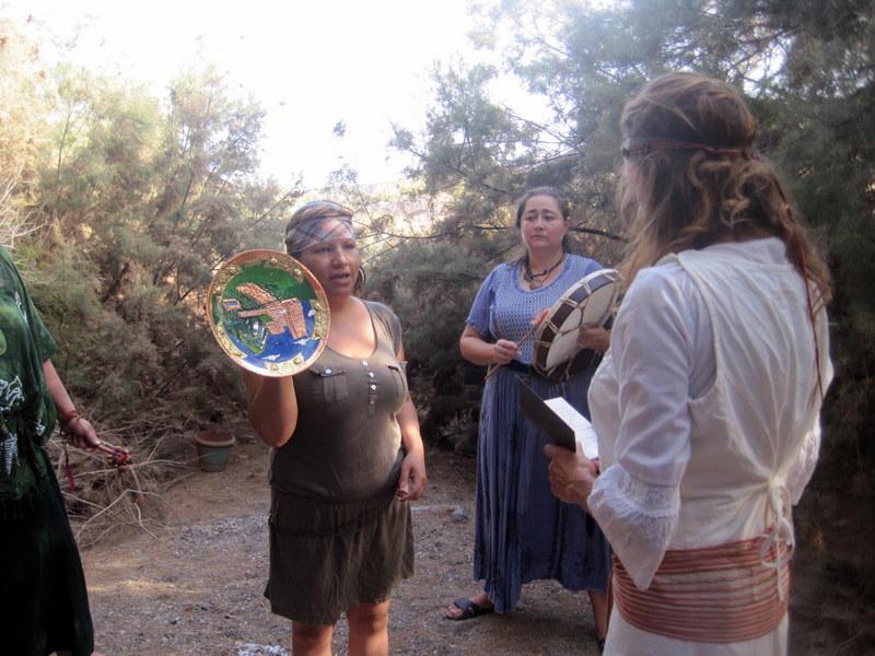 Ceremonia de iniciación de la guerrera celta
