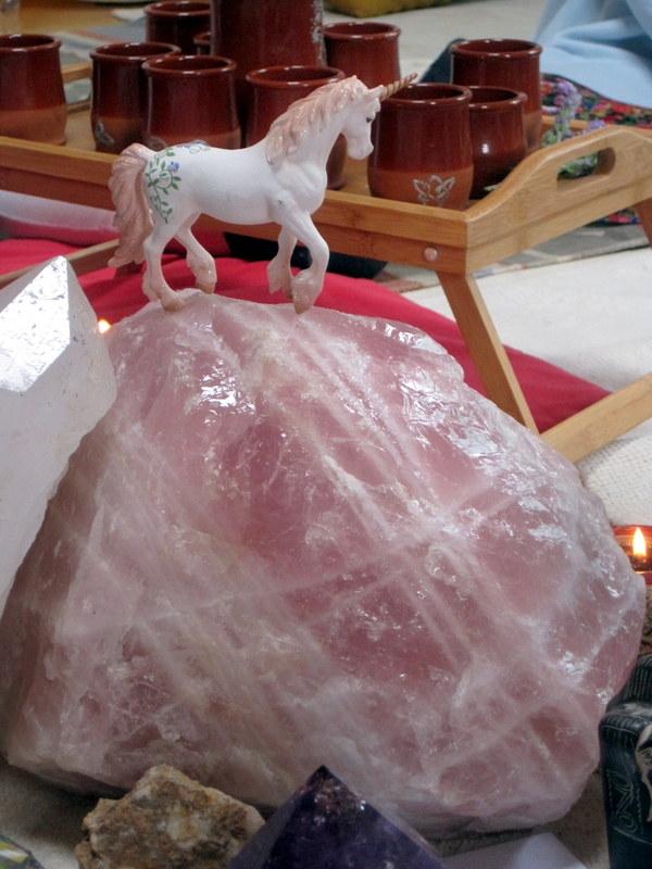 Cuarzos con unicornio