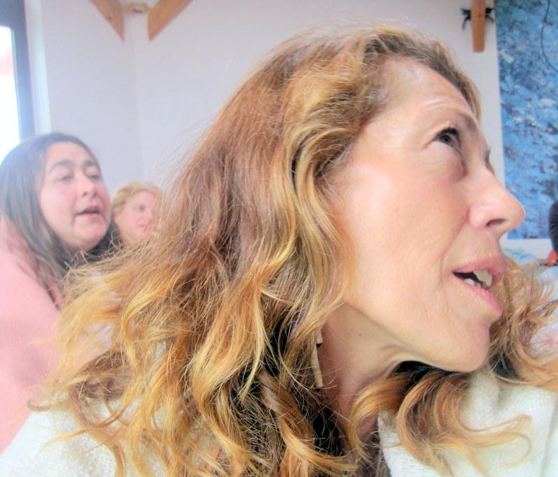 Susana, Lola y Toñi