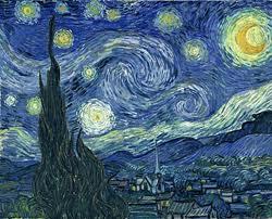 'Noche estrellada' de Van Gogh