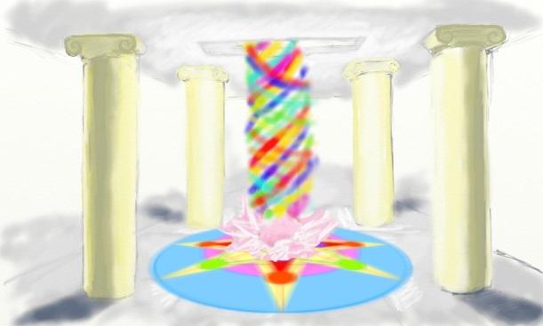Portal Arco Iris en la Sala Tortuga