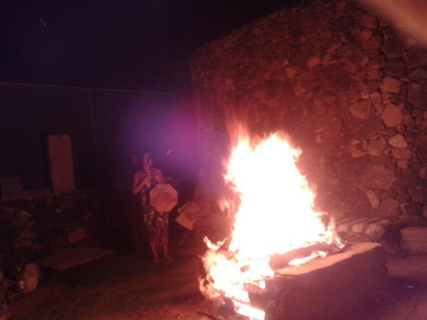 Energía Violeta en el Fuego de Temascal