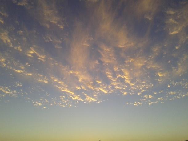 nubes en las dunas. 22 septiembre 2013