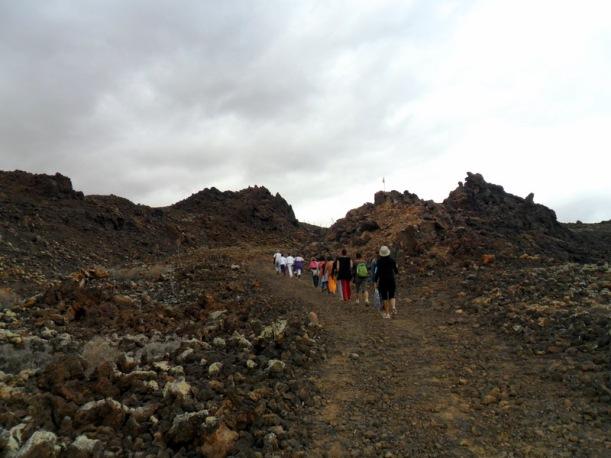 Casi llegando al volcán
