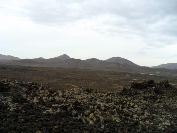 paisaje de lava