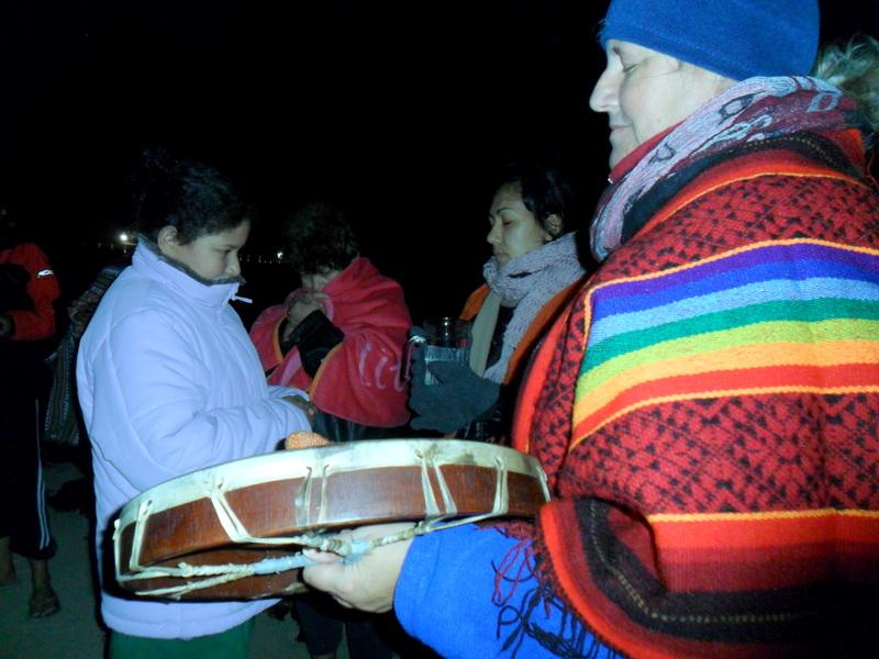 Ceremonia del Agua en Las Agujas