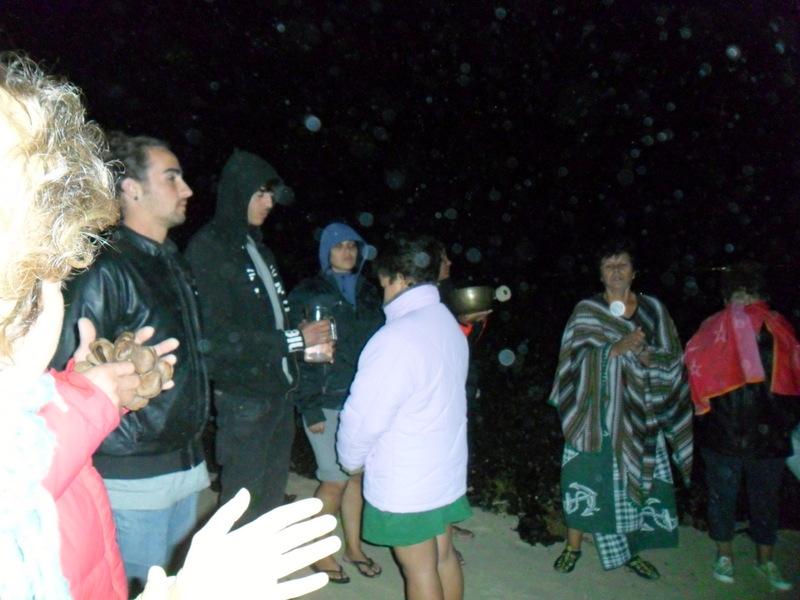 Ceremonia del Agua en Las Agujas 1