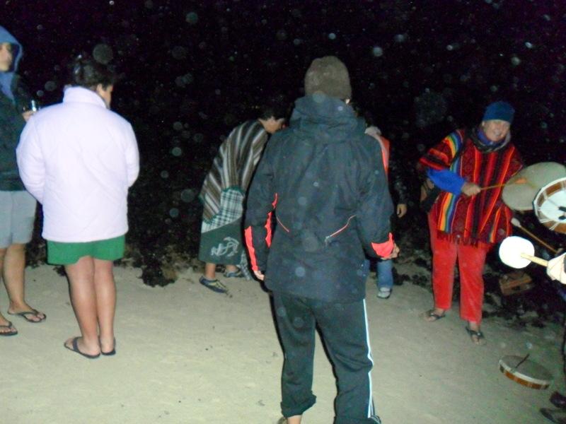 Ceremonia de Agua en Las Agujas 3