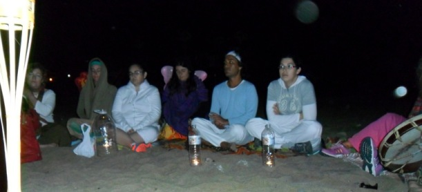 Ceremonia de agua Playa Blanca