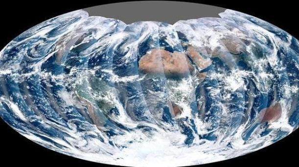 Tierra vista desde la Nasa