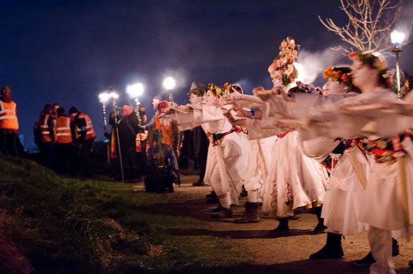 Celebración de Beltane en Irlanda