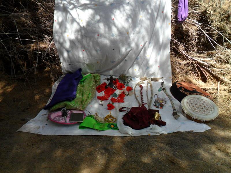 Altar para Beltane