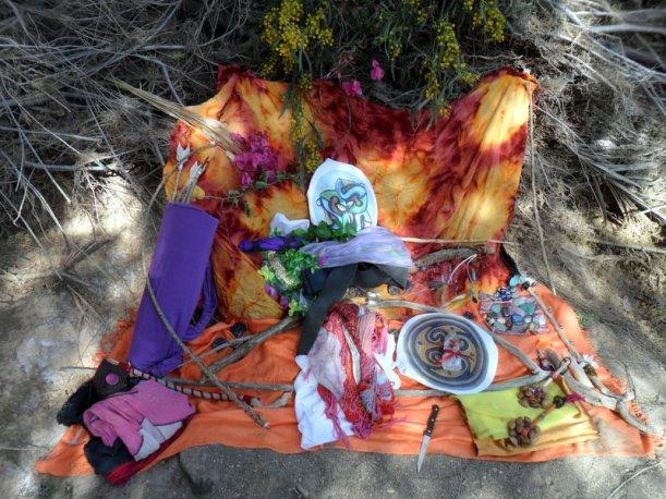 Altar para Ostara