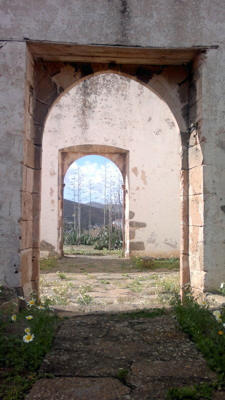 Antiguo monasterio en Betancuria