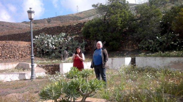 Dagmar & María en Betancuria