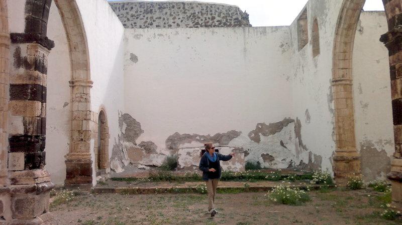 Ruinas del antiguo monasterio