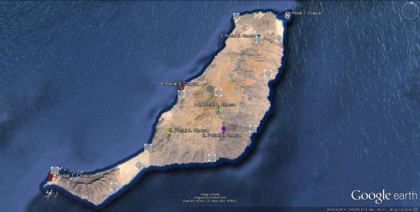 Flores y Portales en Fuerteventura