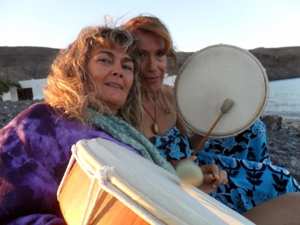 Fefi y Susana en la Ceremonia de Agua (6)