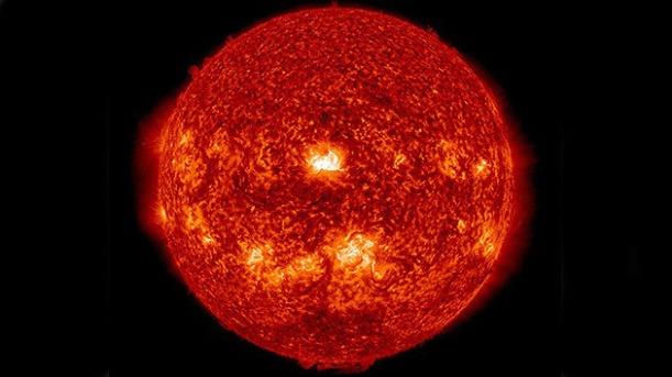 erupción solar 11 sept. 2014
