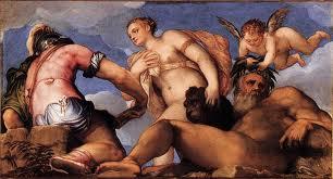 Venus y Neptuno