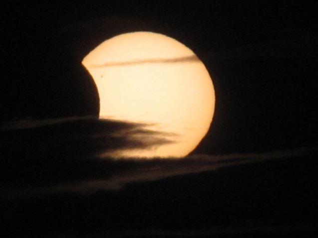 Eclipse parcial de sol en 2011