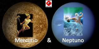 Conjunción Mercurio-Neptuno