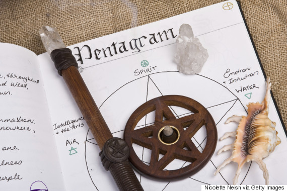 Pentagrama en la tradición wicca