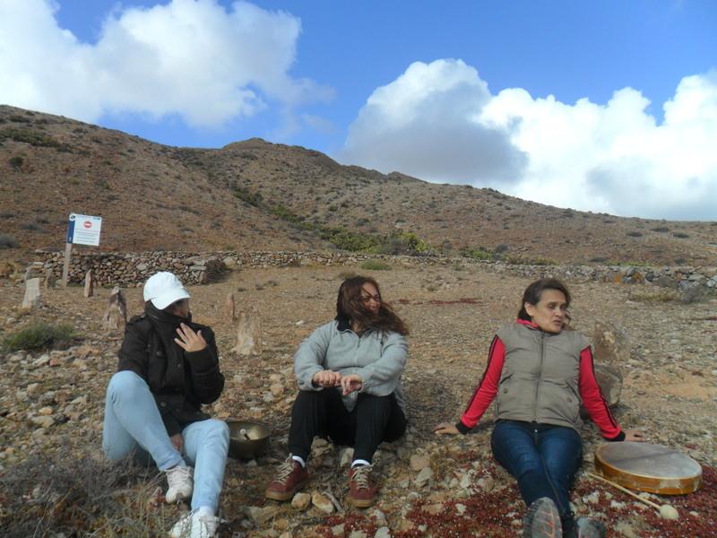 En la montaña de Tindaya