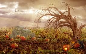 Bosque en Halloween